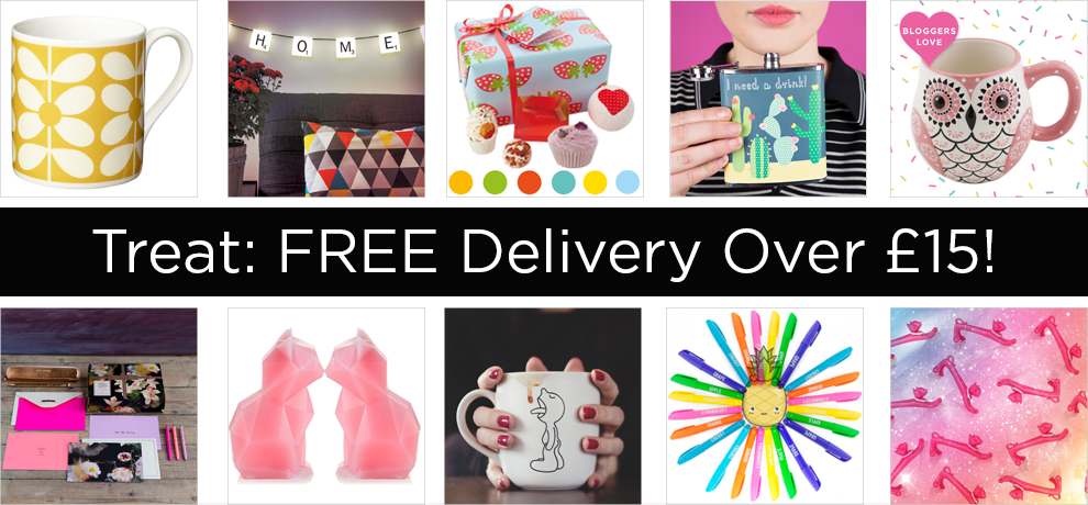 free delivery over £15