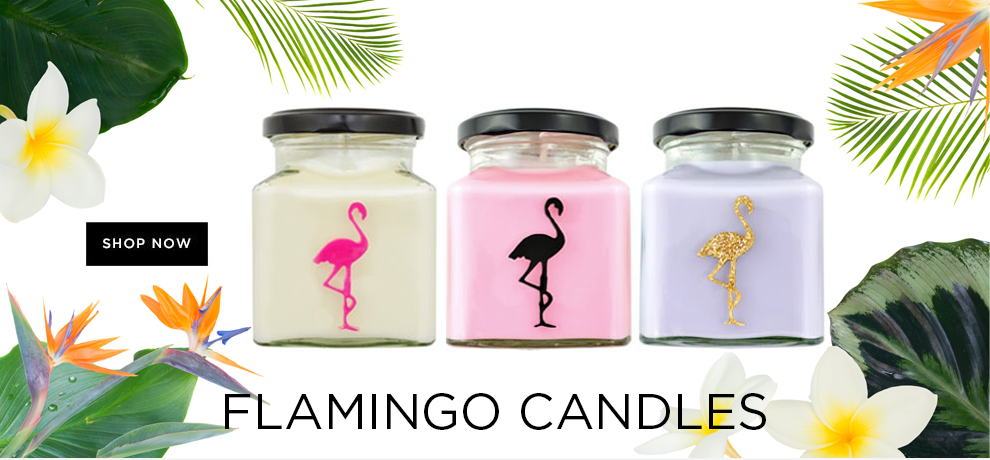 FLAMINGO CANDLES PROMO