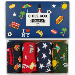 Cities Socks Gift Box for Men