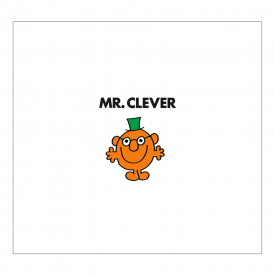 Mr Clever Greetings Card