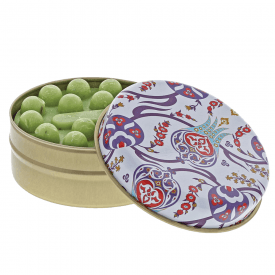 Myros Blue and Red Floral Trellis with Olive Soap