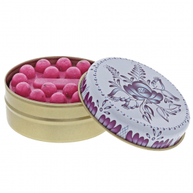 Myros Blue and White Floral with Pomegranate Soap