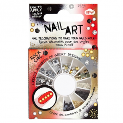 Nail Art Rock Chic Stud Wheel
