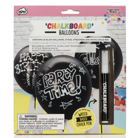 Celebration Nation Chalkboard Balloons