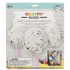 Celebration Nation Confetti Balloons