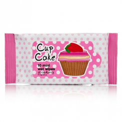 Cupcake Mini Strawberry Wet Wipes