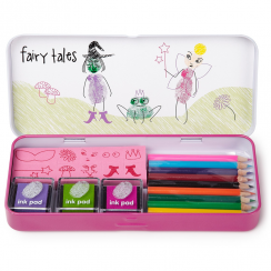 Fairies Finger Paints Art Set