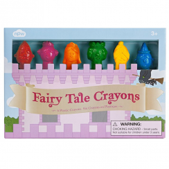 Fairy Tale Pack of 6 Crayons