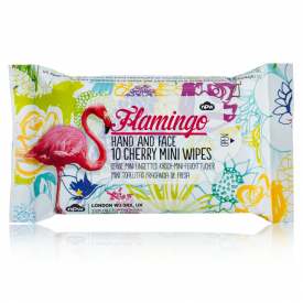 Flamingo Mini Wet Wipes