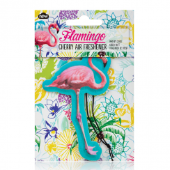 Flamingo Pink Air Freshener