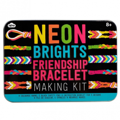 Neon Friendship Bracelets Making Kit