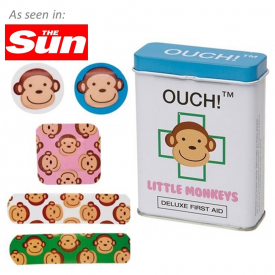 Ouch! Little Monkeys Plasters