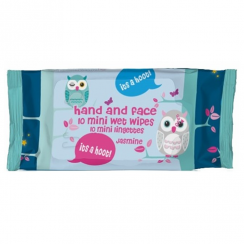 Owl Mini Wipes, Jasmine Fragrance