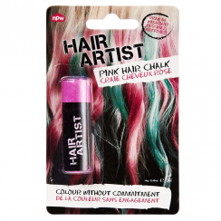 Pink Single Hair Chalk