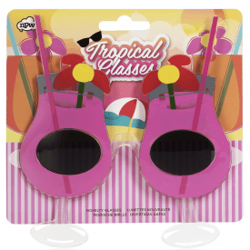 Tropical Novelty Cocktail Glasses