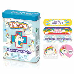 Unicorn Ouch Multi-coloured Plasters