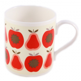 Apples & Pears Red Mug