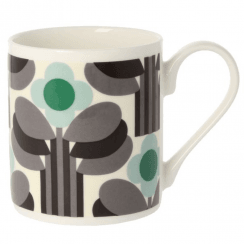 Art Deco Green Mug