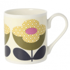 Buttercup Stem Olive Yellow Mug
