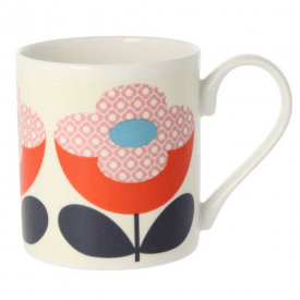 Buttercup Stem Red Pink Mug