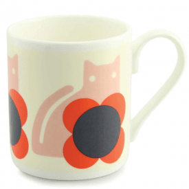 Cat Poppy Large Mug