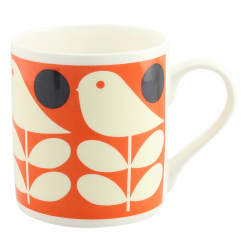 Early Bird Orange China Mug
