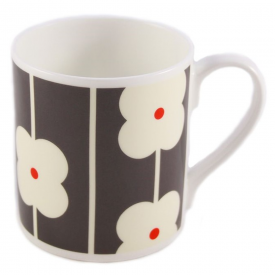 Flower Abacus Grey Mug