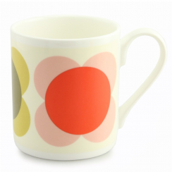 Large Multi Circle Flower Mug