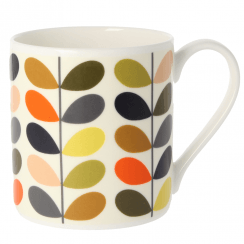 Large Multi Colour Ten Stem Mug
