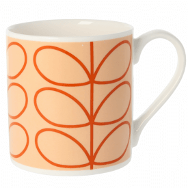 Linear Stem Tomato Large Mug