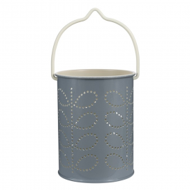 New, Tealight Lantern Cool Grey