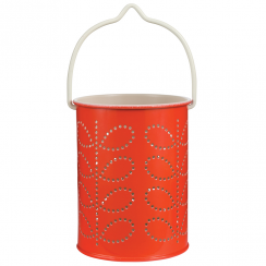 New, Tealight Lantern Warm Red