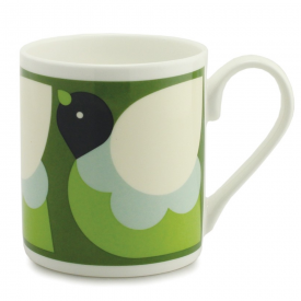 Partridge Green China Mug