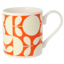 Patchwork Orange Mug