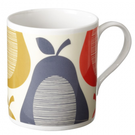 Pear Blue Stripe Mug