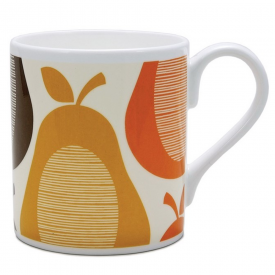 Pear Stripe Amber Mug