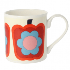 Pepper Red Bone China Mug