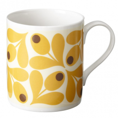 Saffron Acorn Bone China Mug