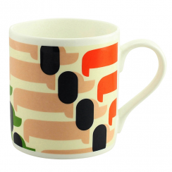 Sausage Dog Orange Mug