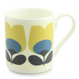 Tulip Blue Bone China Mug