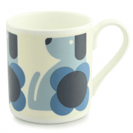 Tulip Blue Dog Large Mug