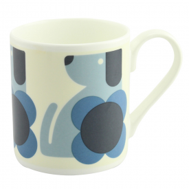 Tulip Blue Dog Mug