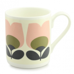 Tulip Olive Bone China Mug