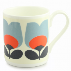 Tulip Poppy Bone China Mug
