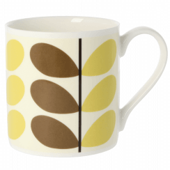 Two Colour Stem Nutmeg Large Mug