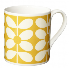 Yellow Sixties Stem Mug