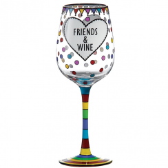 Wine & Friends Wine Glass