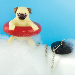 Novelty Floating Bath Pug