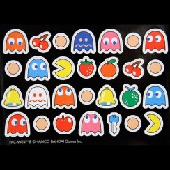 Retro Pac Man Magnets