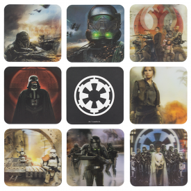 Rogue One 3D Coasters